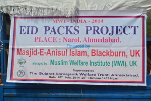 2014 Eid Packs – India, Ahmedabad