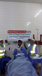 Malawi Cataract Operations 2015